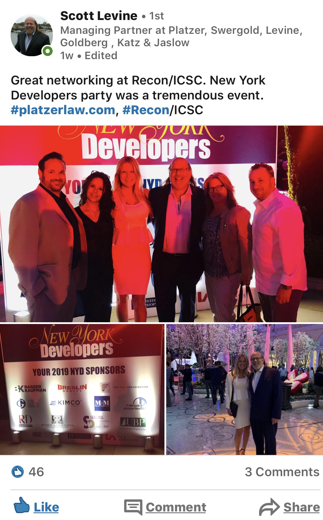Recon/ICSC New York Developers 2019