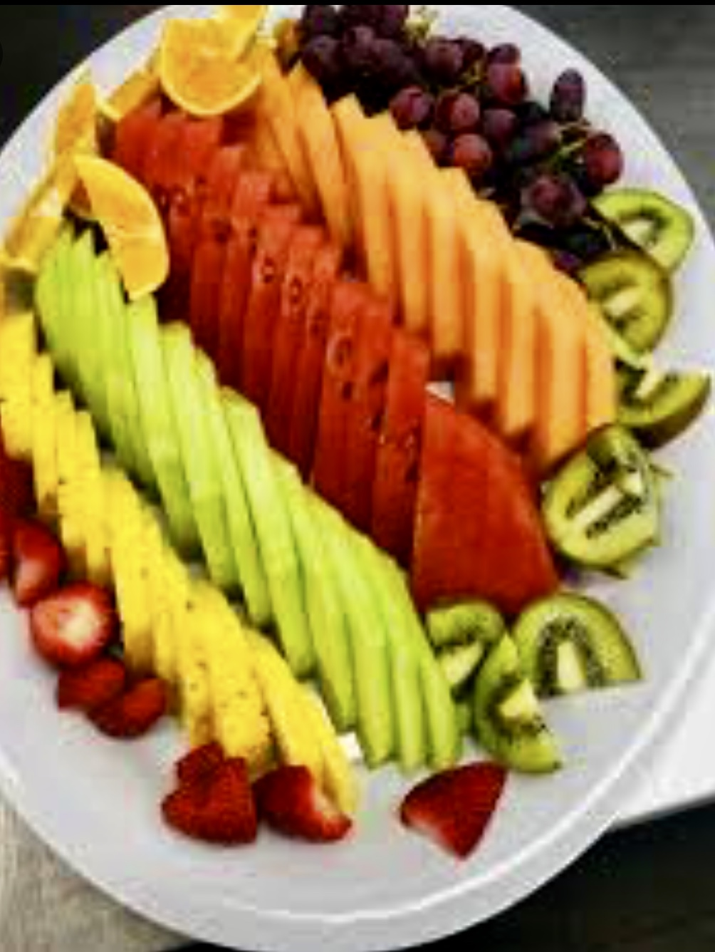 Join us at Magic Las Vegas | Fruit plate